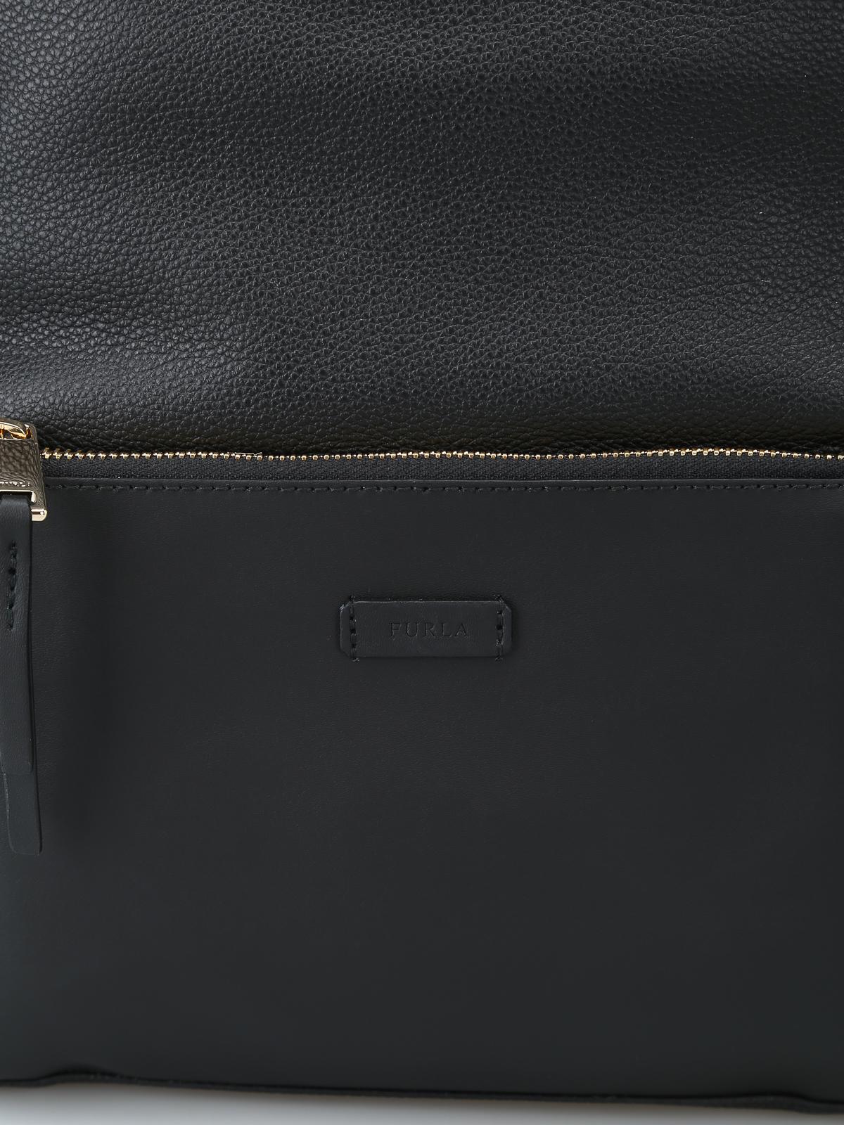 Furla Giudecca Small Dome Backpack Backpacks 981770 Onyx Authentic Shop Online