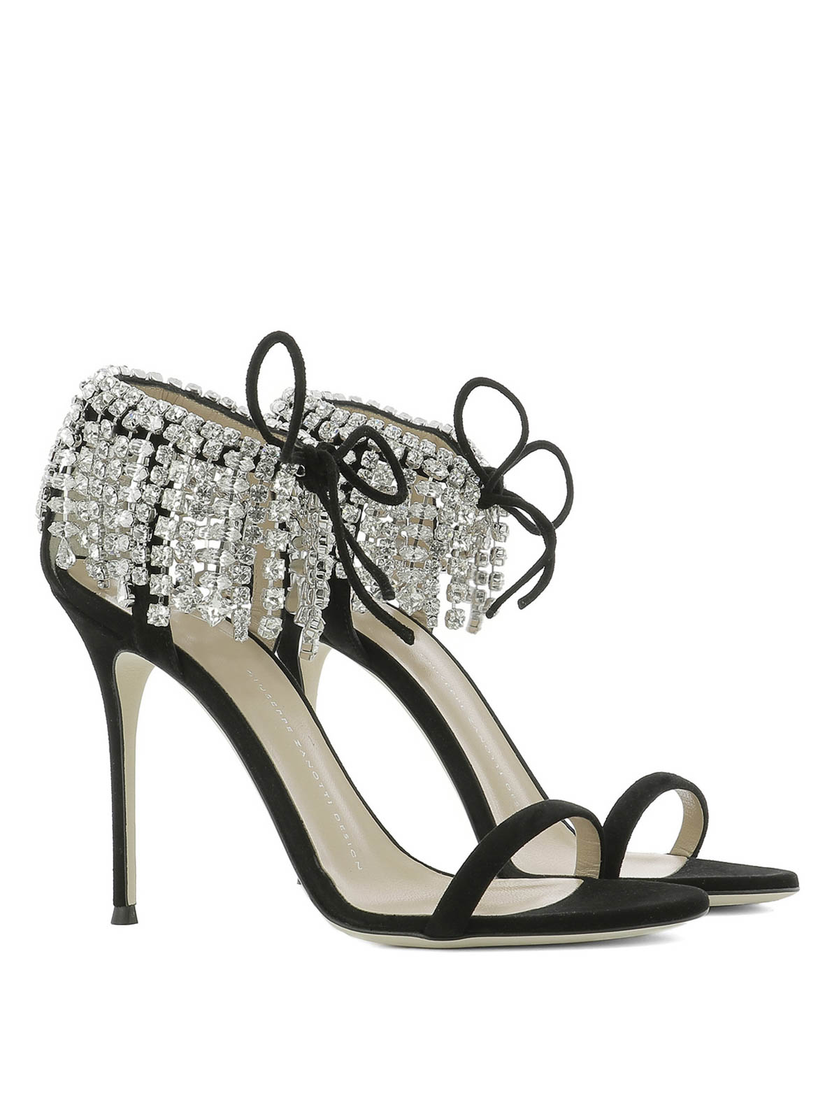 38148450702b GIUSEPPE ZANOTTI  sandals online - Carrie Crystal embellished sandals