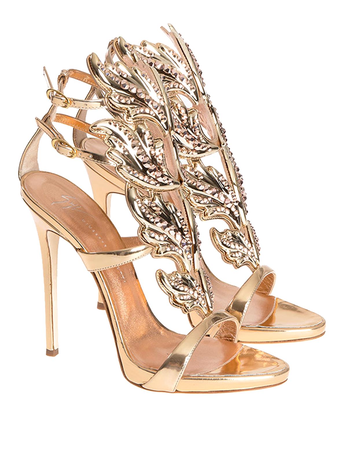 GIUSEPPE ZANOTTI Embellished Open Toe Sandal t0ExVyZ3v