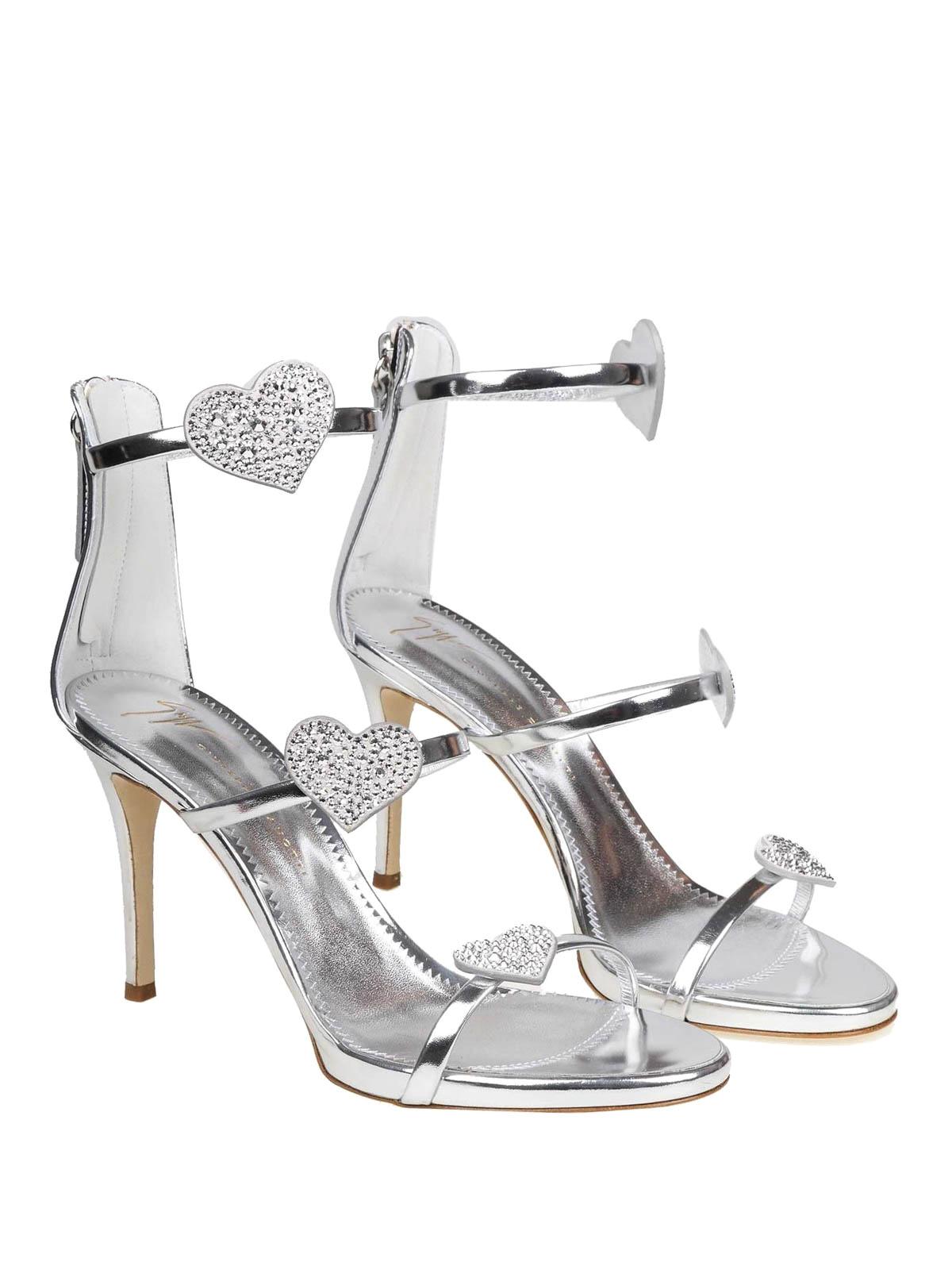 078d89fb4 GIUSEPPE ZANOTTI  sandals online - Harmony Love mirror leather sandals