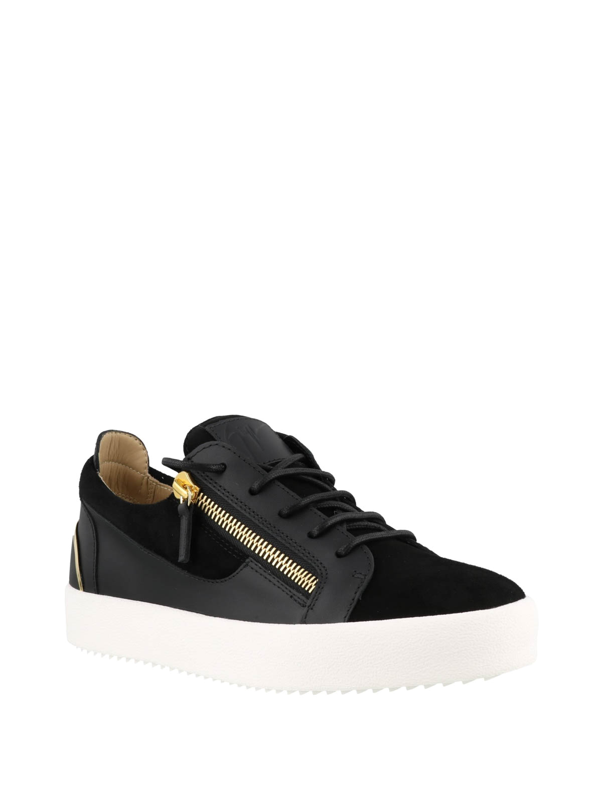 e06aed985d983 GIUSEPPE ZANOTTI: trainers online - Frankie Signature black sneakers