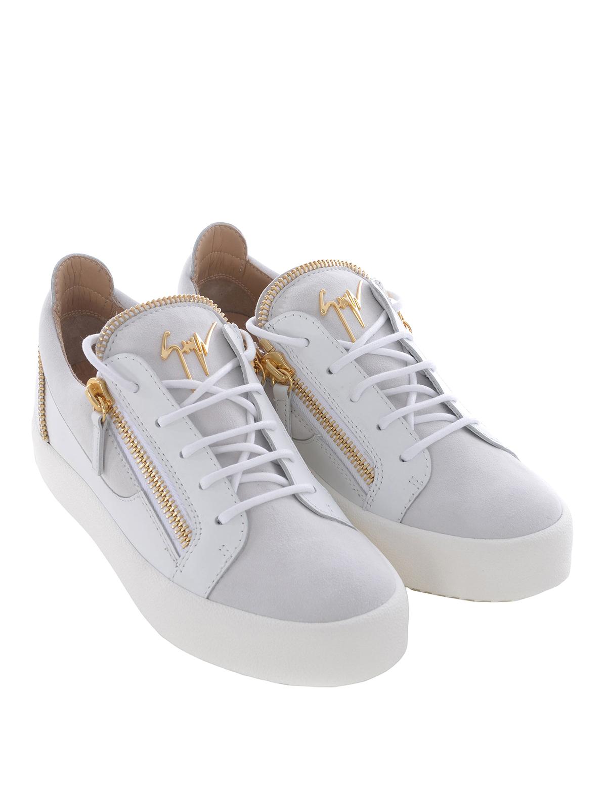 90c5fda3d297b Giuseppe Zanotti - Kirk Low zip details sneakers - trainers - RM80006001