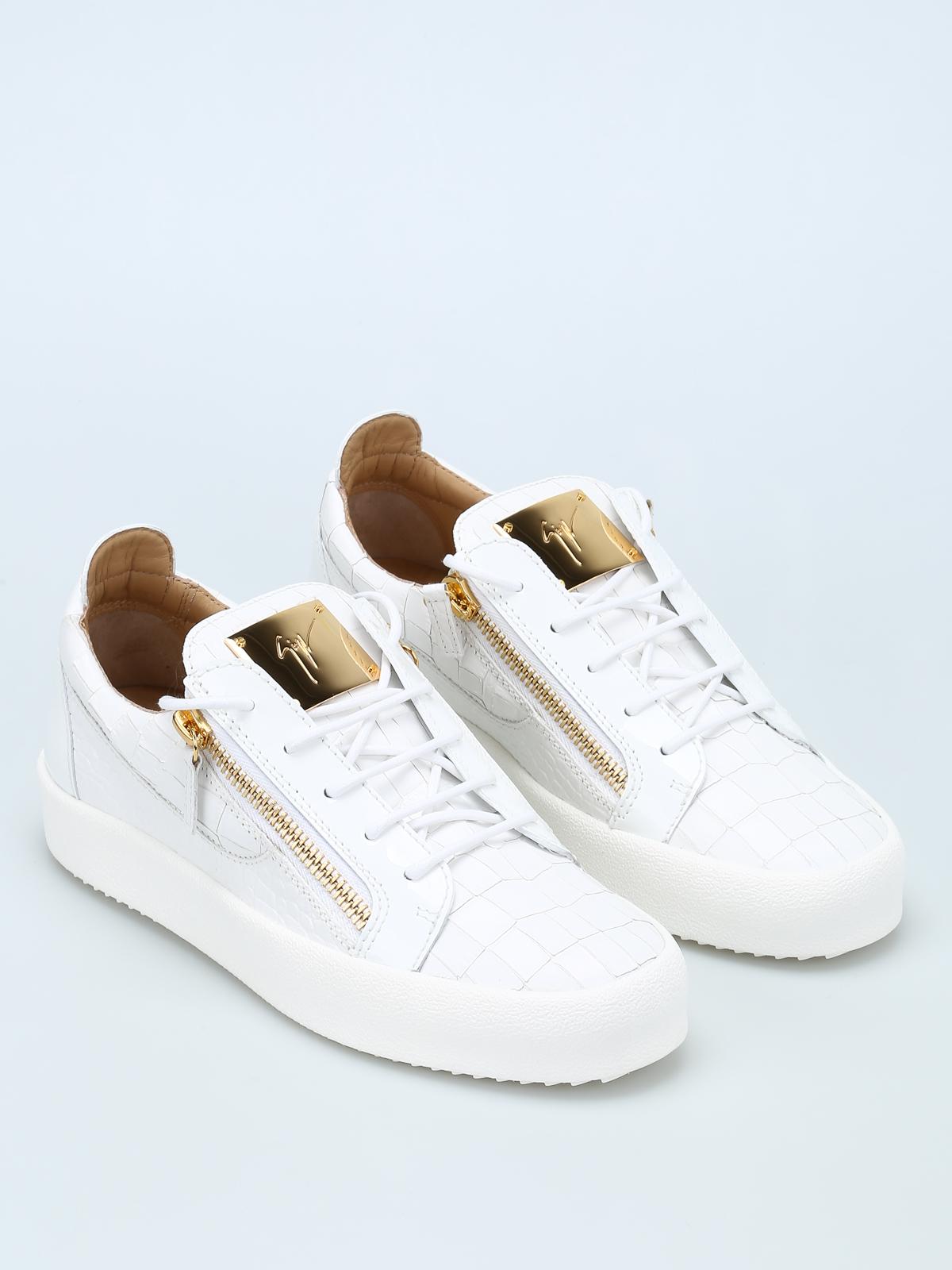 79c64aebd5b04 GIUSEPPE ZANOTTI: trainers online - May London croco print sneakers