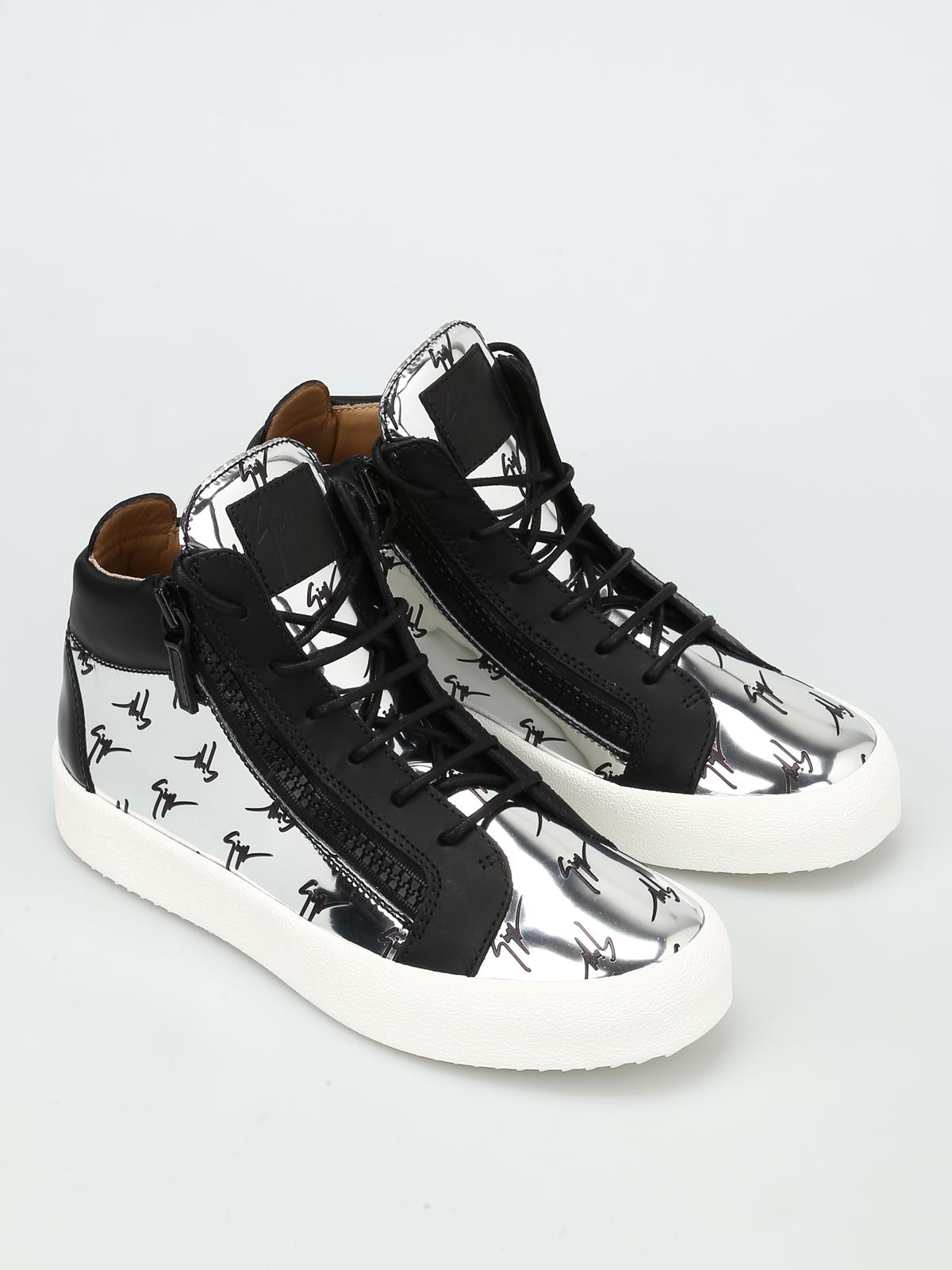 Giuseppe Zanotti - Sneaker alte May London - sneakers - RM7119 00107 41a25d42f35