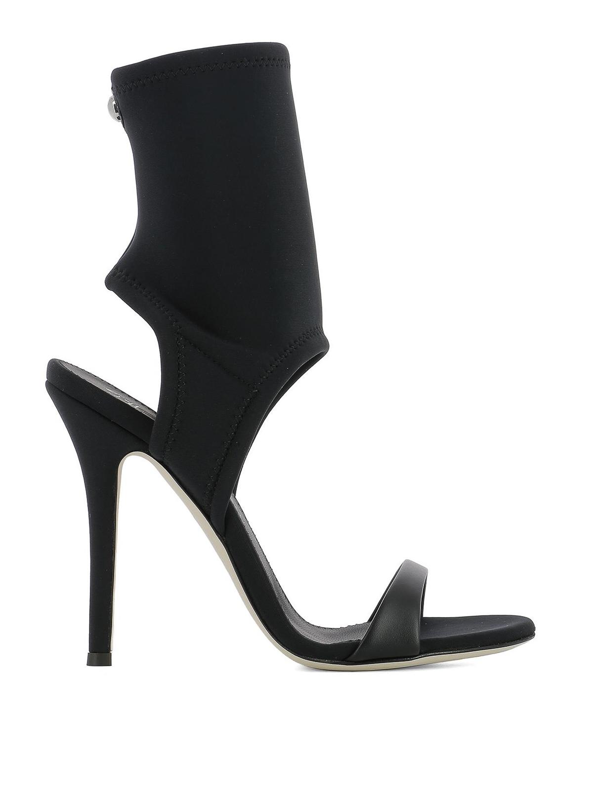 Agnes neoprene sandals - Black Giuseppe Zanotti bBQl7eV4