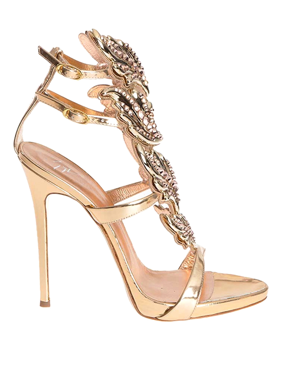 Open Zanotti Embellished Toe Giuseppe Sandal E29DIYeWH