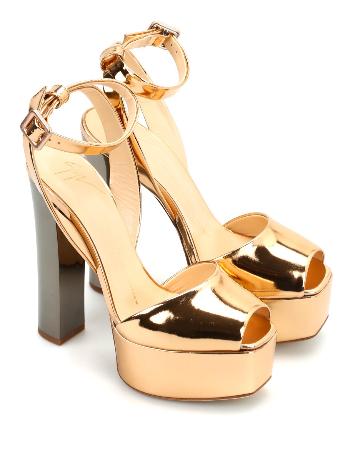 ab26ae9c6b9 Giuseppe Zanotti - Lavinia leather sandals - sandals - E60118001