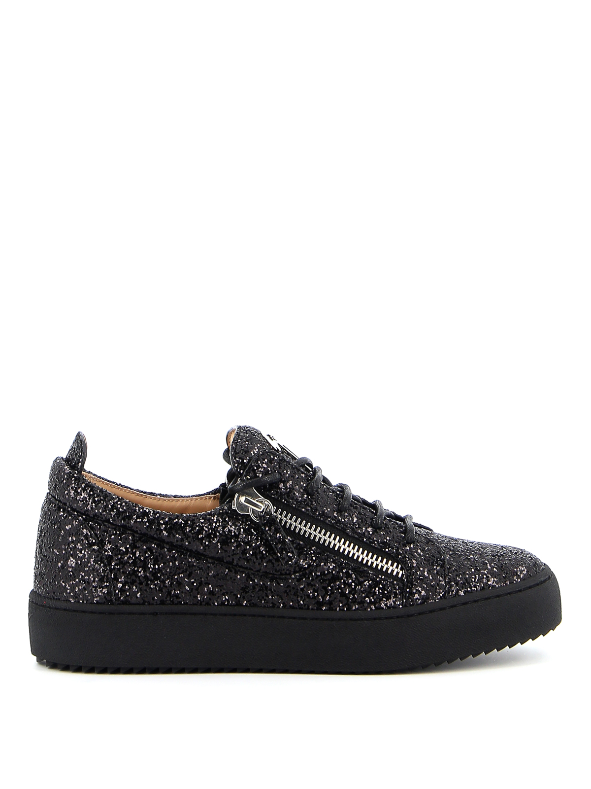 Giuseppe Zanotti MAY LONDON GLITTERED SNEAKERS