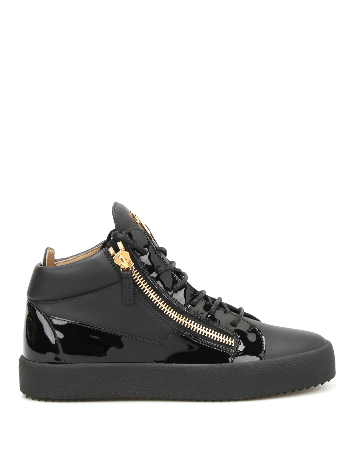 May London leather sneakers by Giuseppe Zanotti