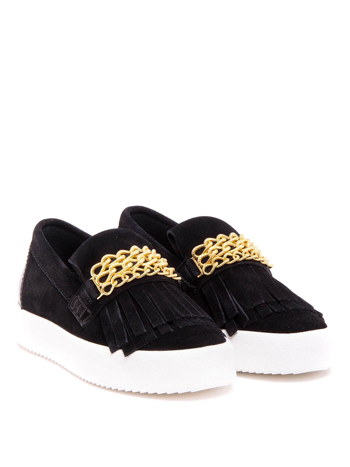 sneaker fur damen schwarz von giuseppe zanotti sneaker. Black Bedroom Furniture Sets. Home Design Ideas