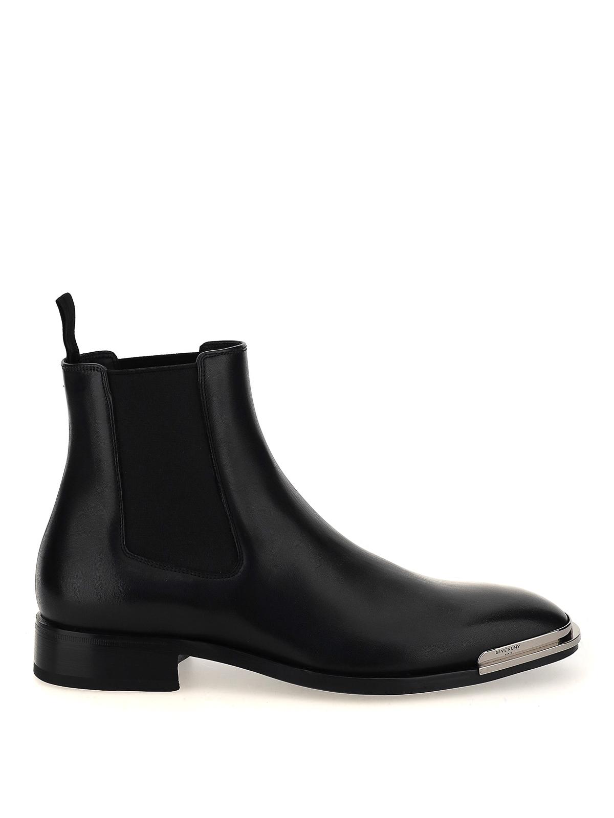 Givenchy METALLIC TOE CHELSEA BOOTS