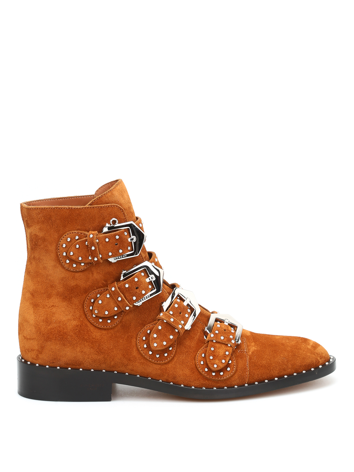 studded calf suede ankle boots by givenchy ankle boots