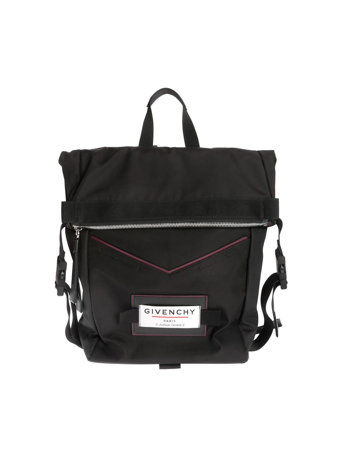 Givenchy Backpacks GIVENCHY DOWNTOWN BACKPACK IN BLACK