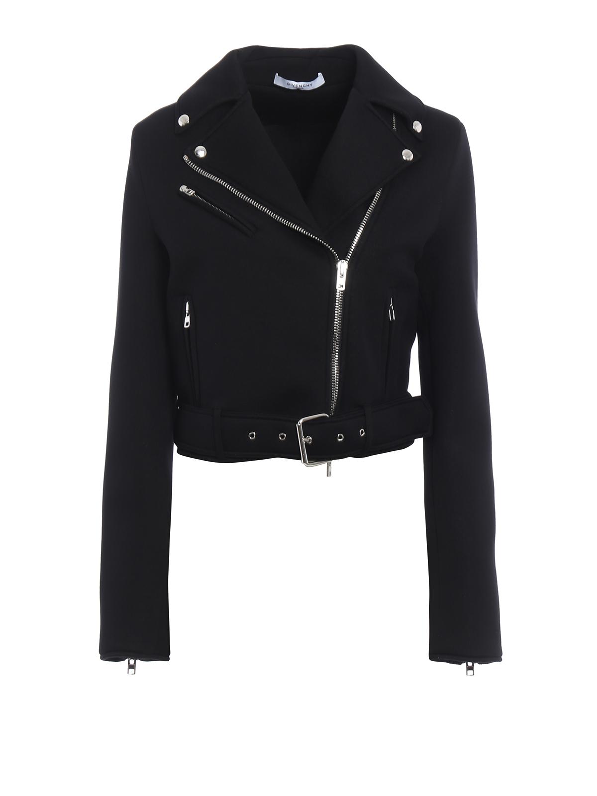 nueva productos 76093 500e8 Givenchy - Chaqueta De Cuero Negras Para Mujer - Chaquetas ...