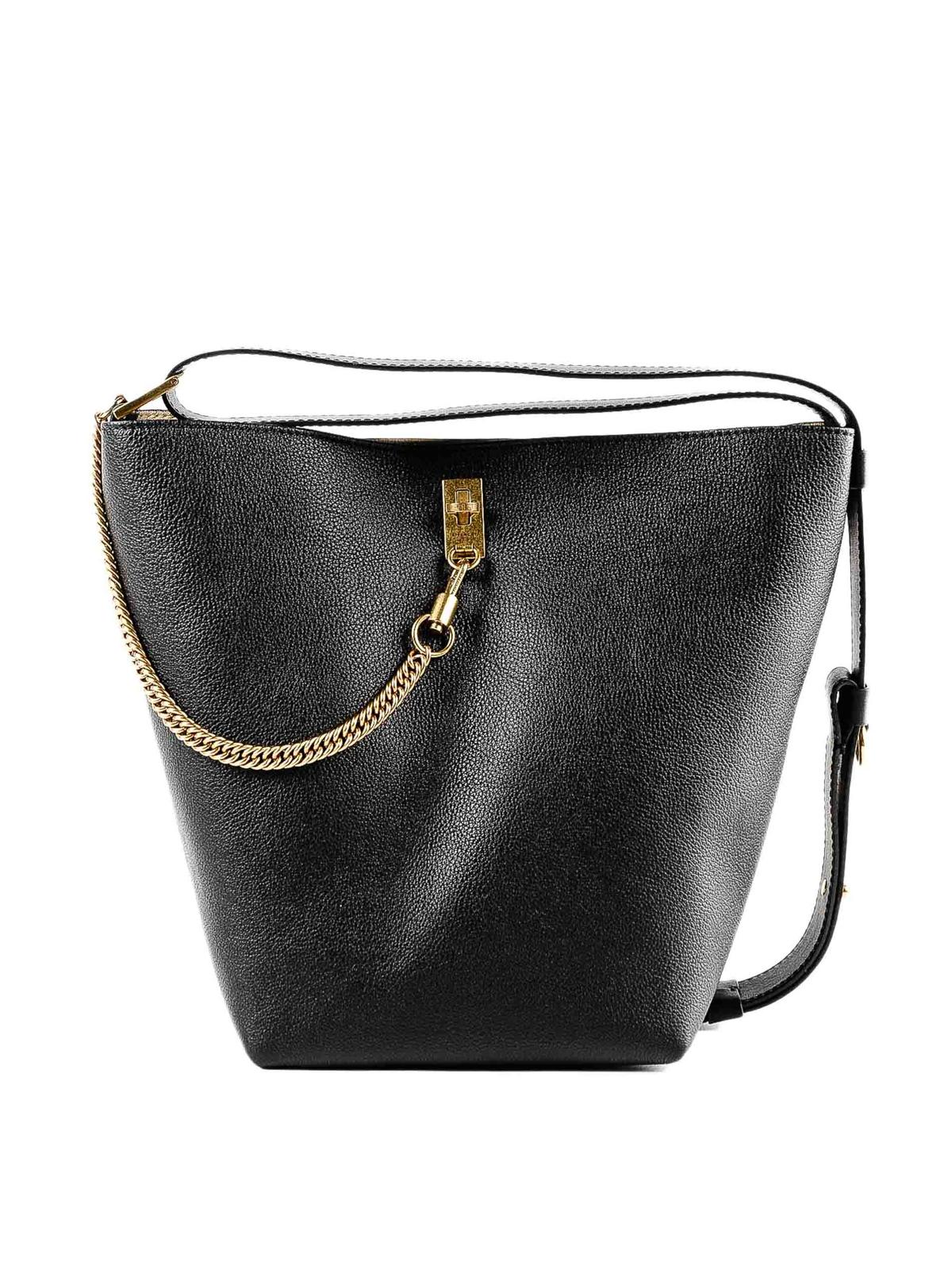 d642d5d4b5 Givenchy - GV3 grainy leather medium bucket bag - Bucket bags ...