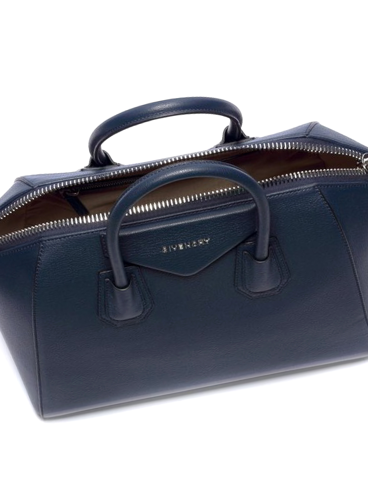 25ec7a813fae GIVENCHY buy online Antigona medium blue leather bag. GIVENCHY  bowling bags  ...