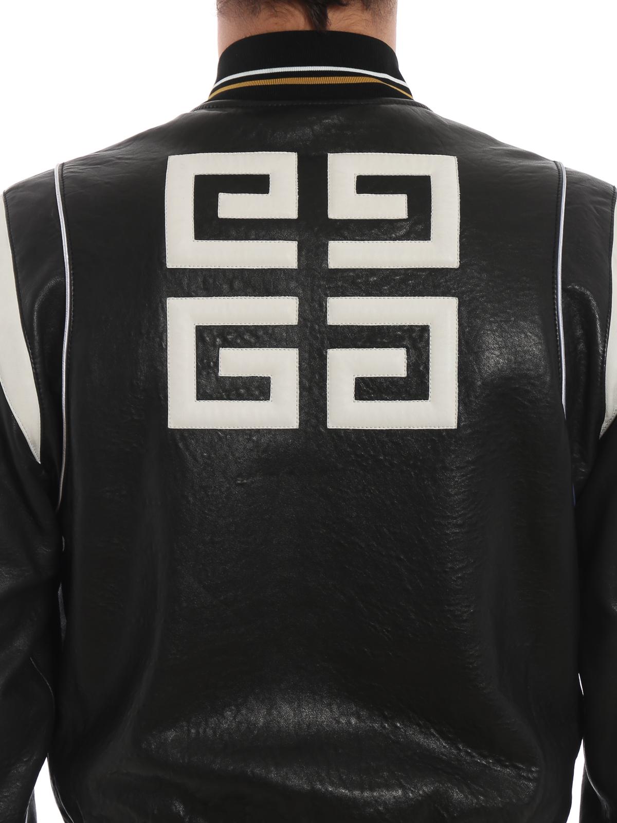 Givenchy - Blouson En Cuir - Noir - Vestes