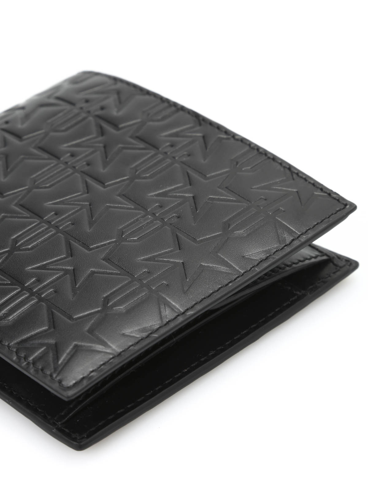 cf064ccc20 Givenchy - Embossed leather billfold wallet - wallets & purses ...