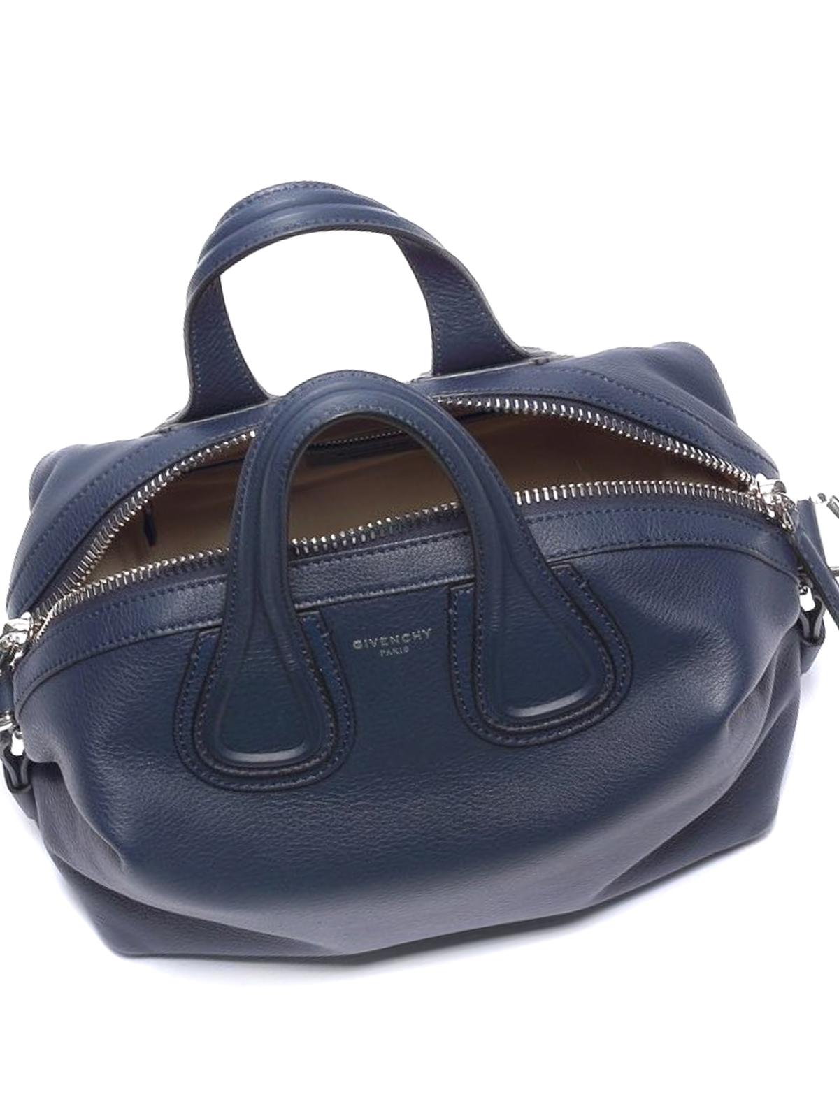 0b825e1509b Givenchy - Nightingale small blue bowling bag - bowling bags ...