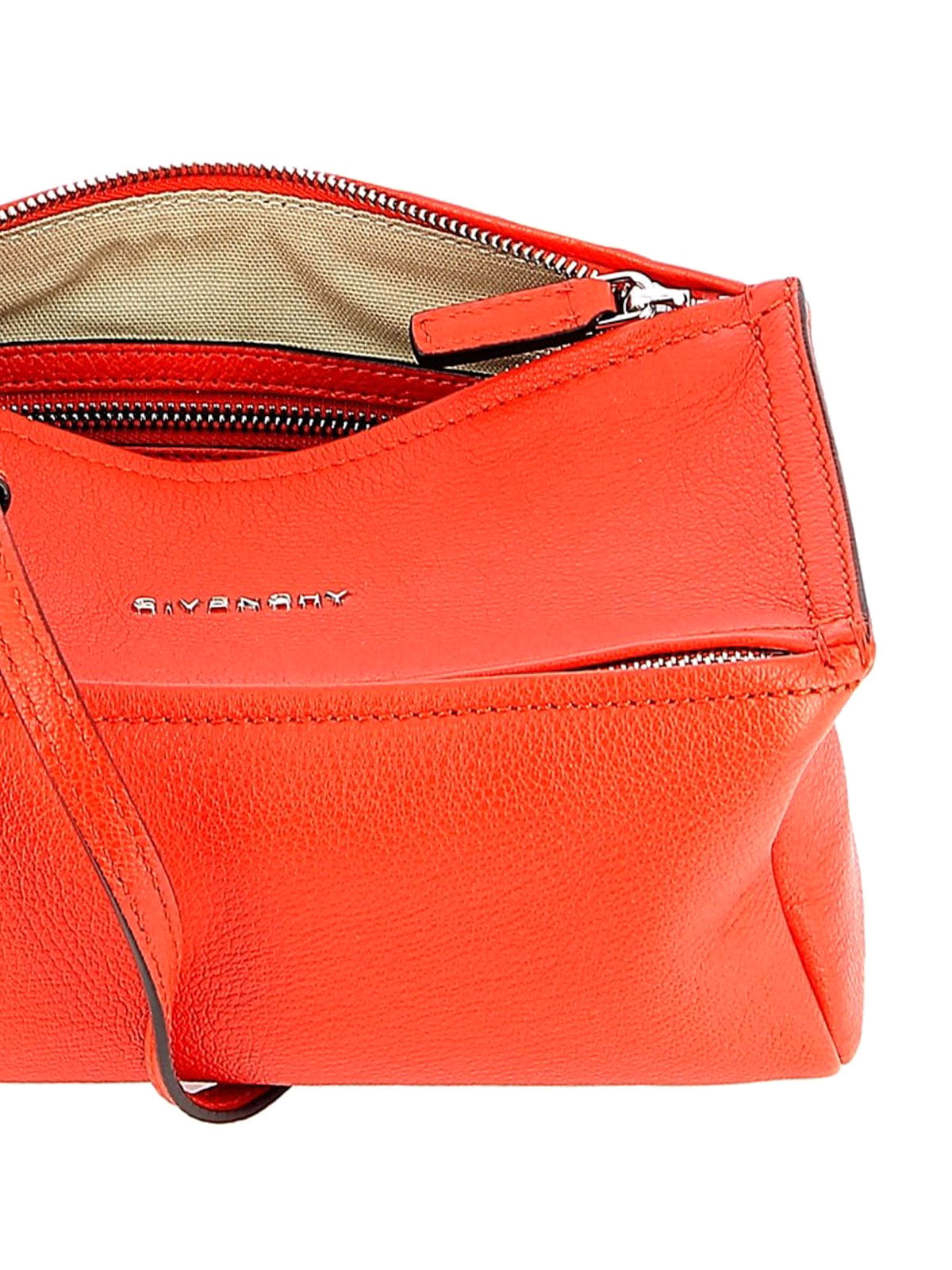 1c444f06d75b Givenchy - Pandora pop red leather mini messenger bag - cross body ...