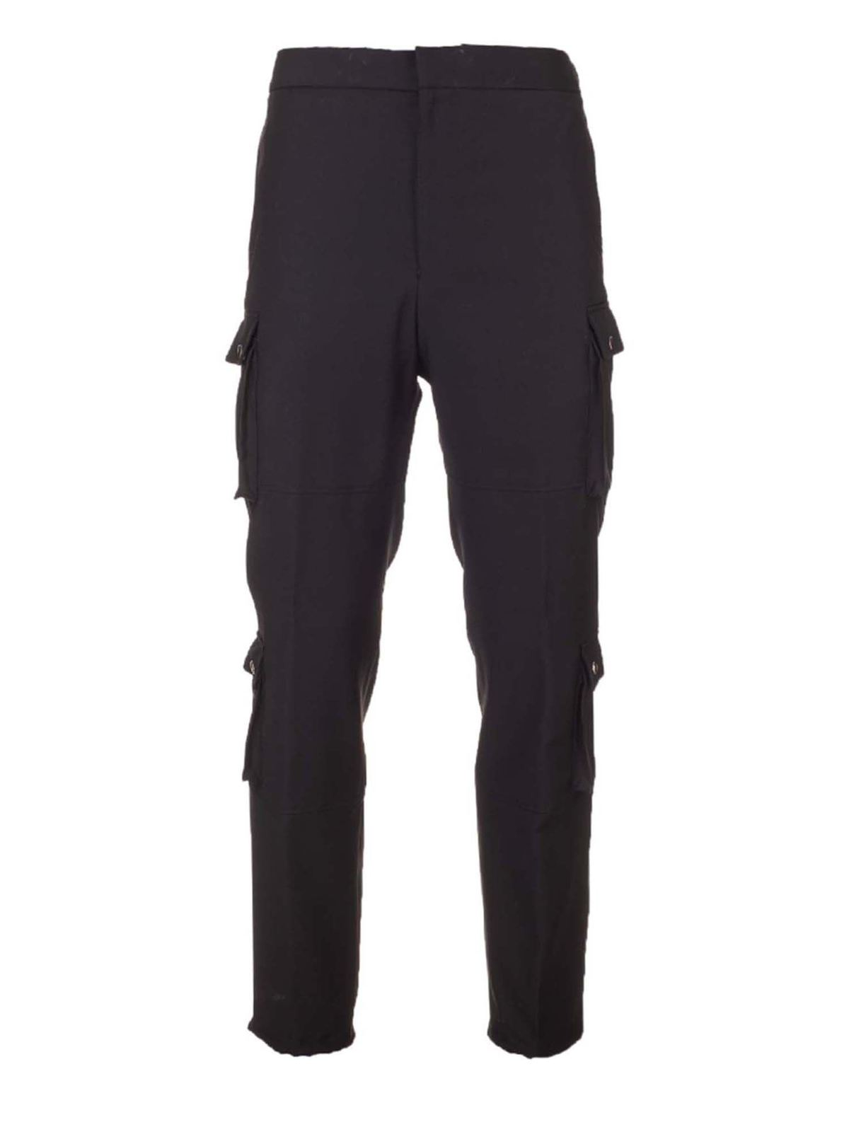 Givenchy Pants CARGO PANTS IN BLACK