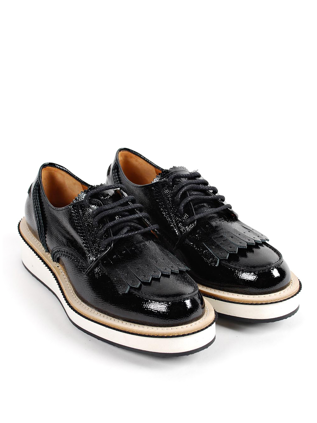 Leather brogues Givenchy L6UHq