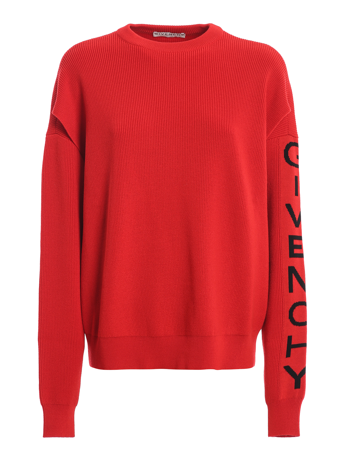 Givenchy Pull Col Rond Rouge Pull col rond BW90AH4Z7K606