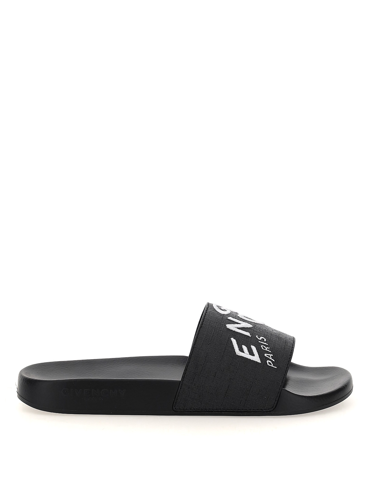 Givenchy REFRACTED LOGO SLIDERS