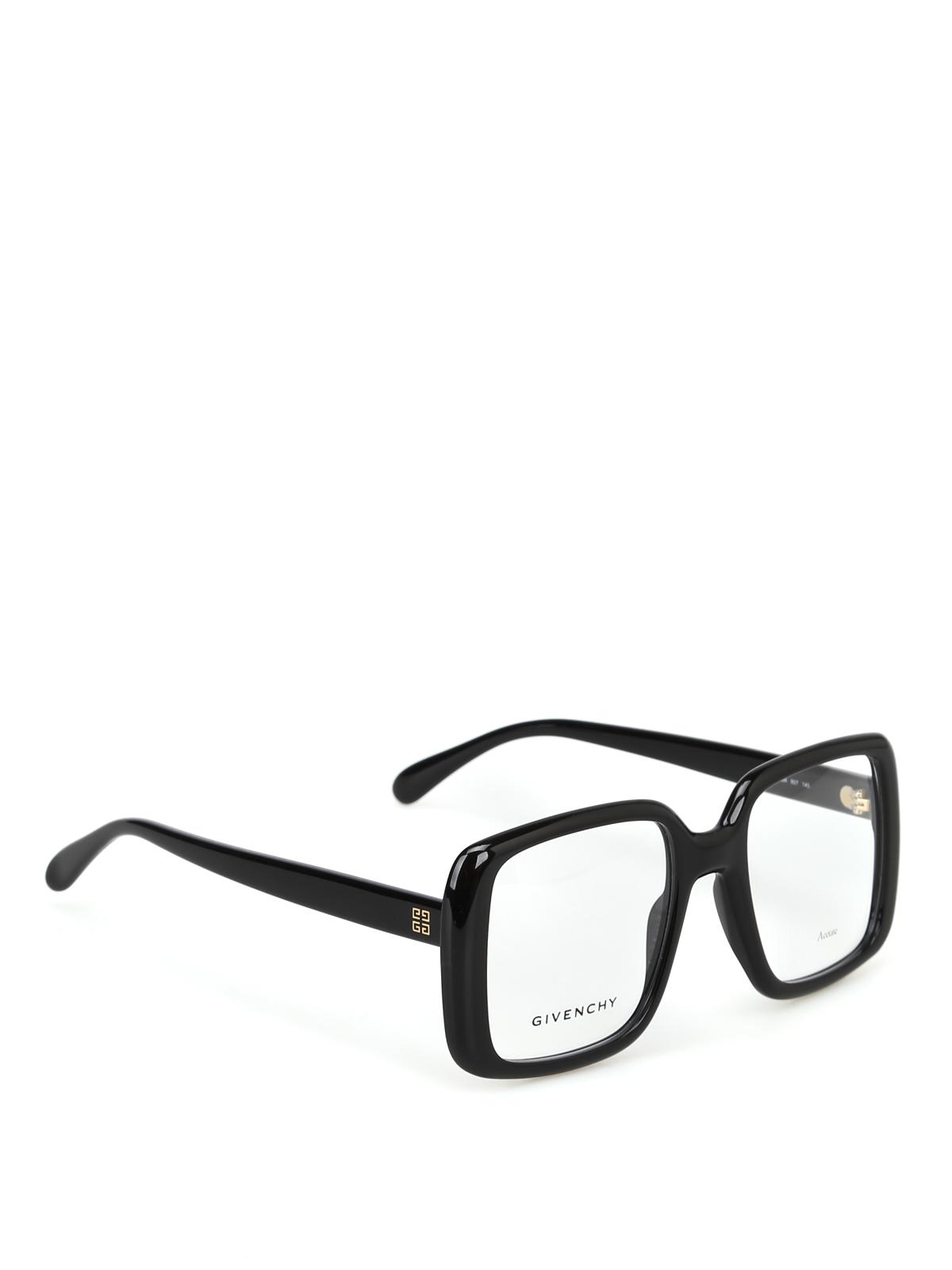 comprare popolare 2b738 a0a14 Givenchy - Occhiali da vista quadrati neri - occhiali ...