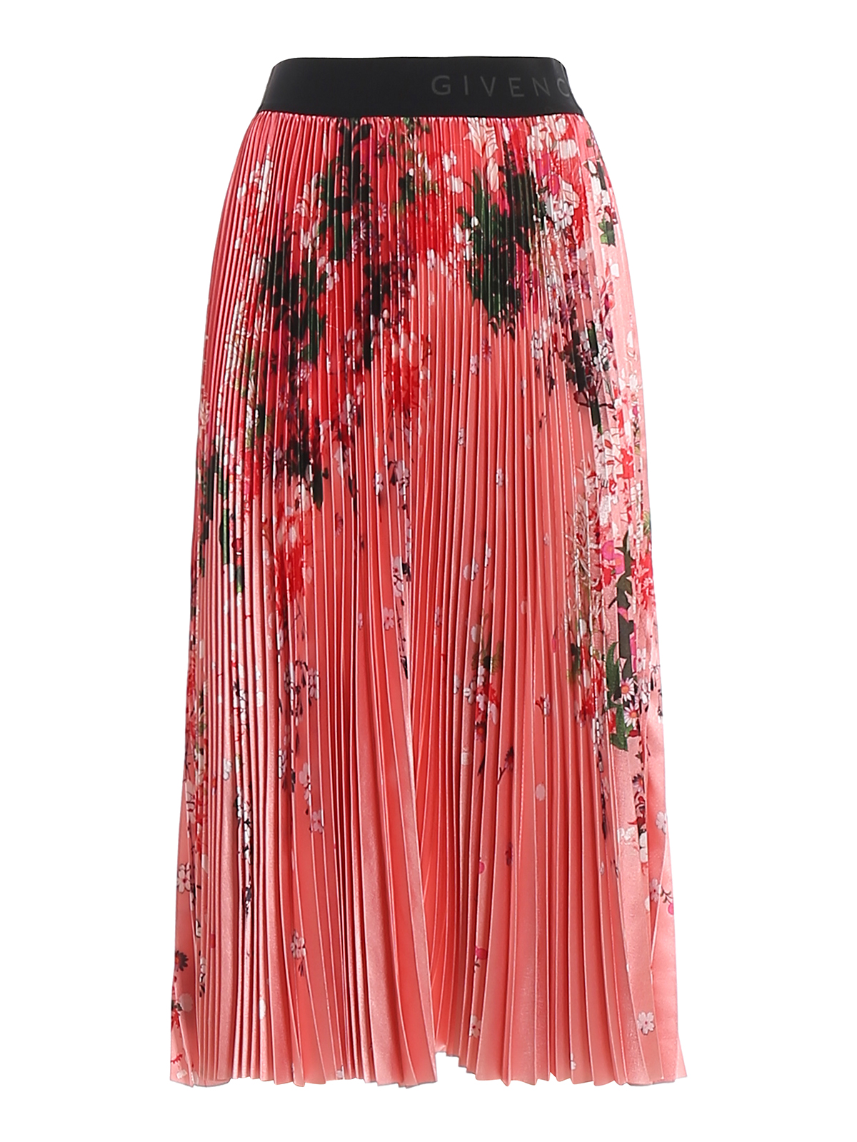 Givenchy Midi skirts Floral pleated skirt