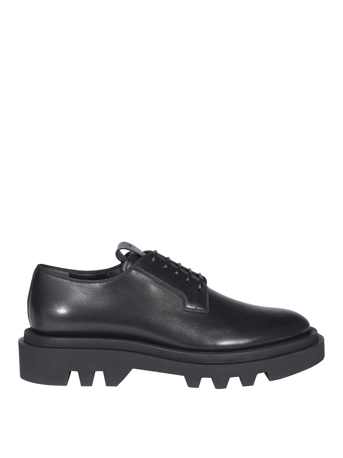 Givenchy BRUSHED LEATHER LACE-UPS