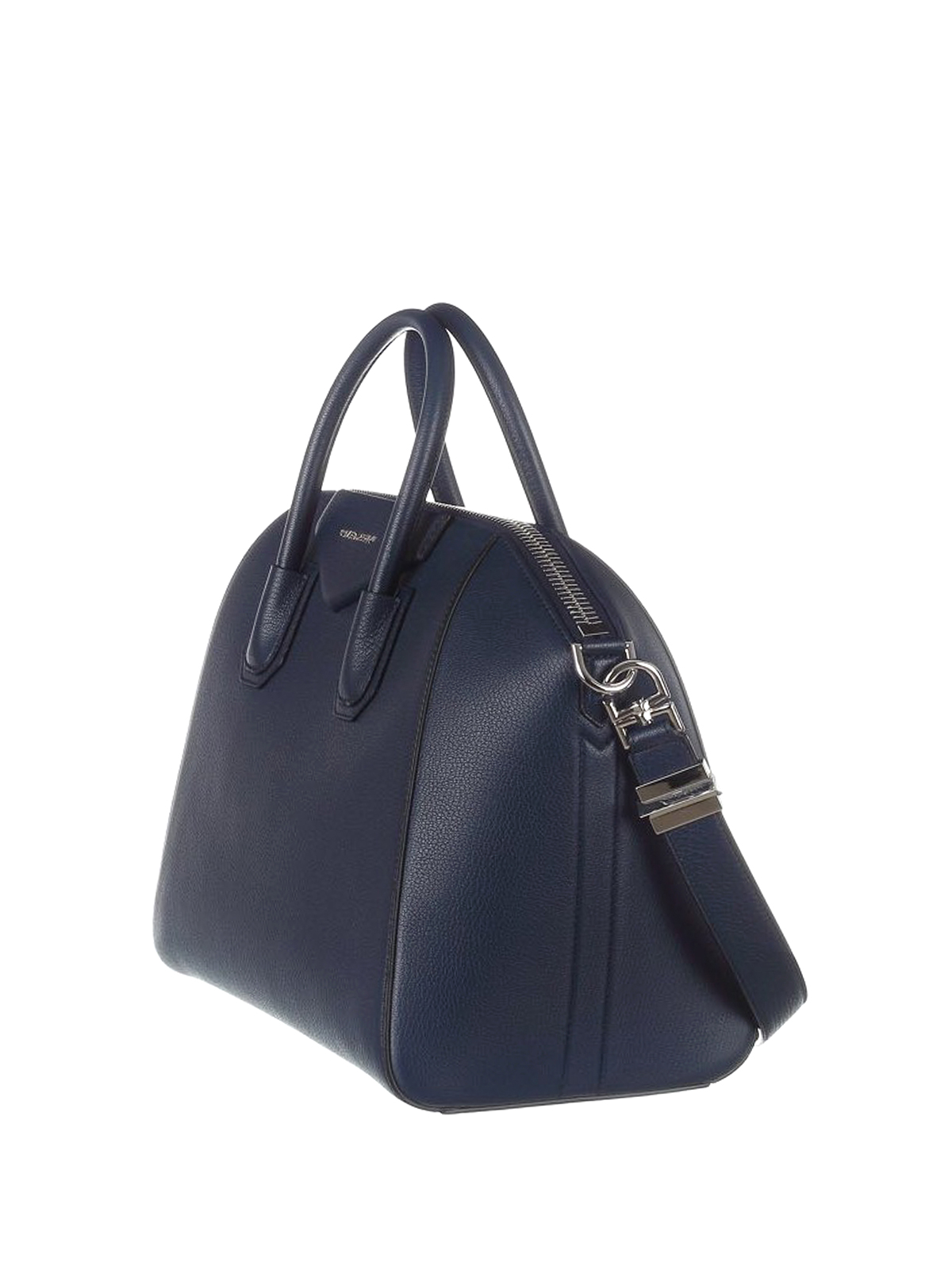 afa0556a5354 GIVENCHY  bowling bags online - Antigona medium blue leather bag