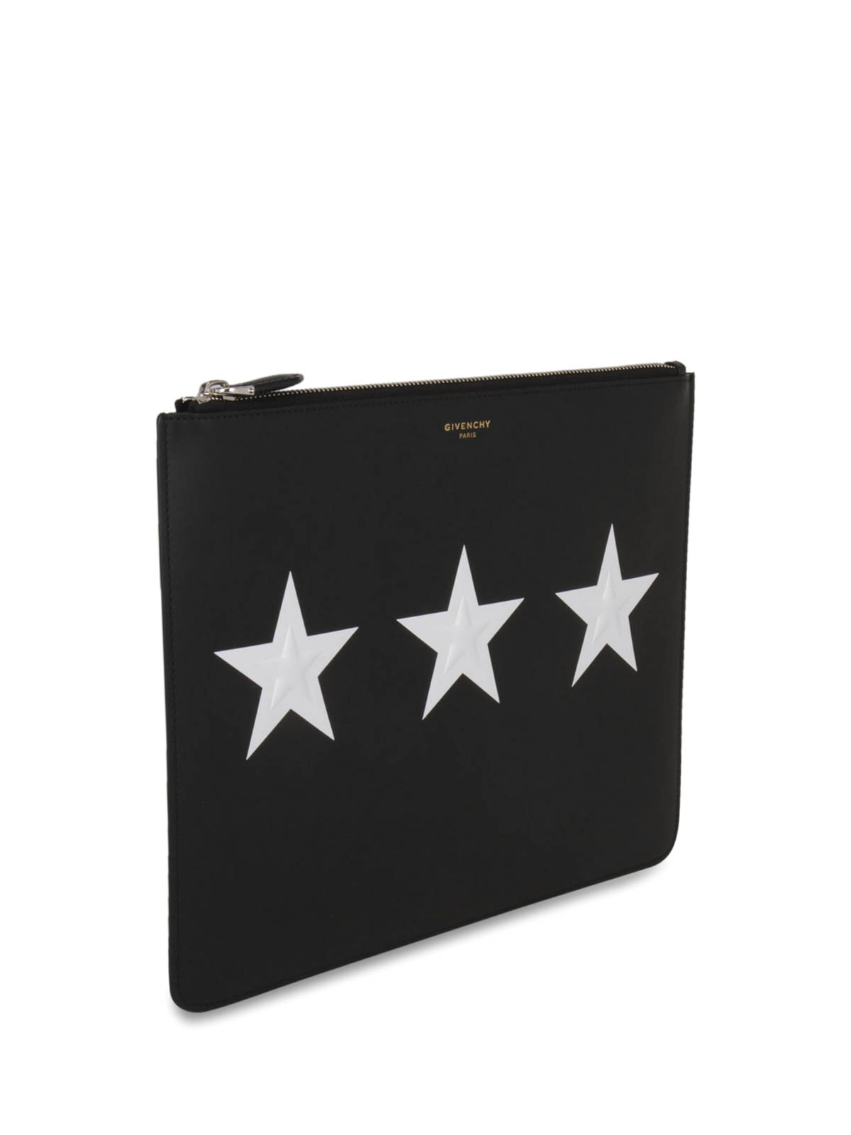 be20175c421 Givenchy - Star print leather clutch - clutches - BK06072266 001