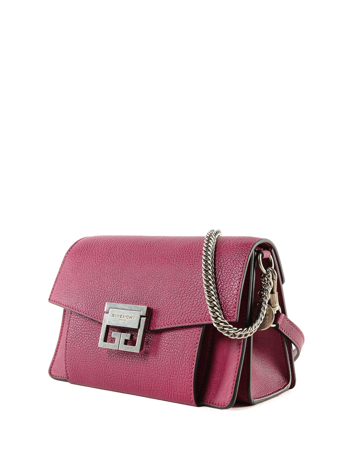 GIVENCHY  cross body bags online - GV3 fuchsia leather small bag 7612f735bbeac