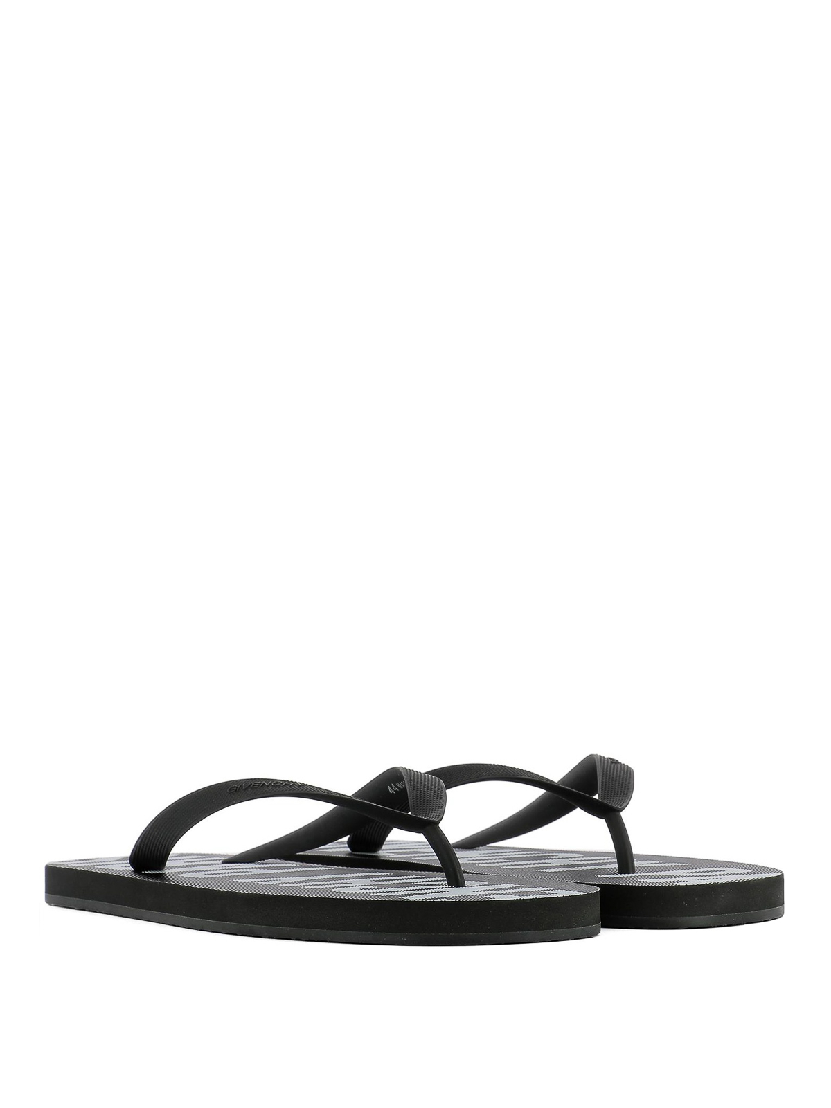 Givenchy - Rubber thong flip flops
