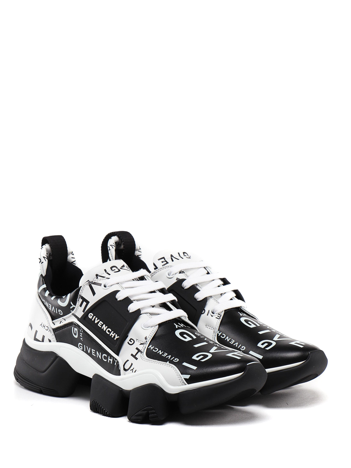 Givenchy - Jaw all over logo sneakers