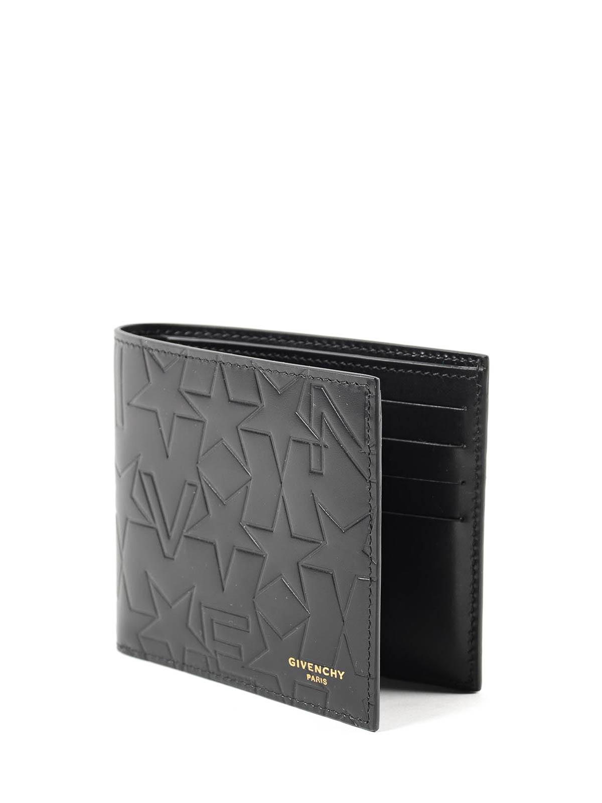 2e5e9eb2a6a5 GIVENCHY  wallets   purses online - Logo embossed bi-fold wallet