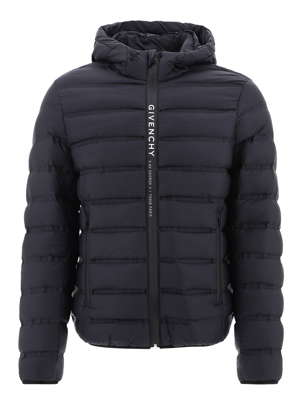 Givenchy Over coats LOGO BAND QUILTED PADDED JACKET