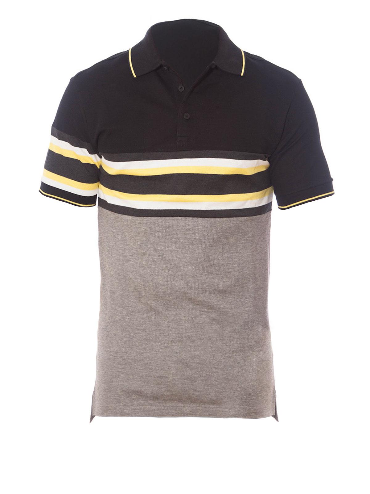 a91f6bb3 Givenchy - Striped detail polo - polo shirts - 16S7103-700 001 ...