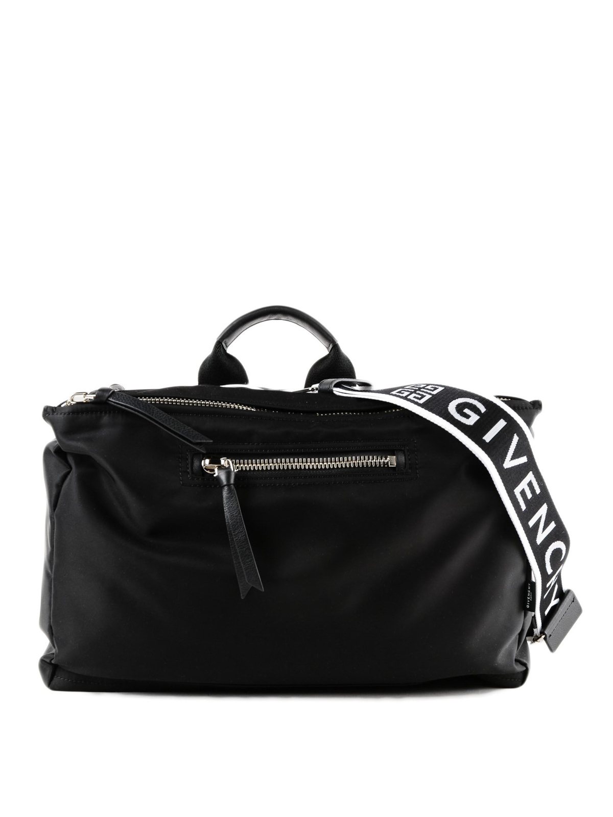 Givenchy - Pandora black tech fabric messenger bag - shoulder bags ... 6461fb8c4c187