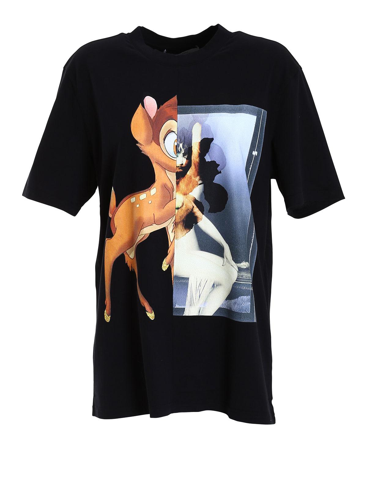Bambi print t shirt by givenchy t shirts ikrix for T shirts to print