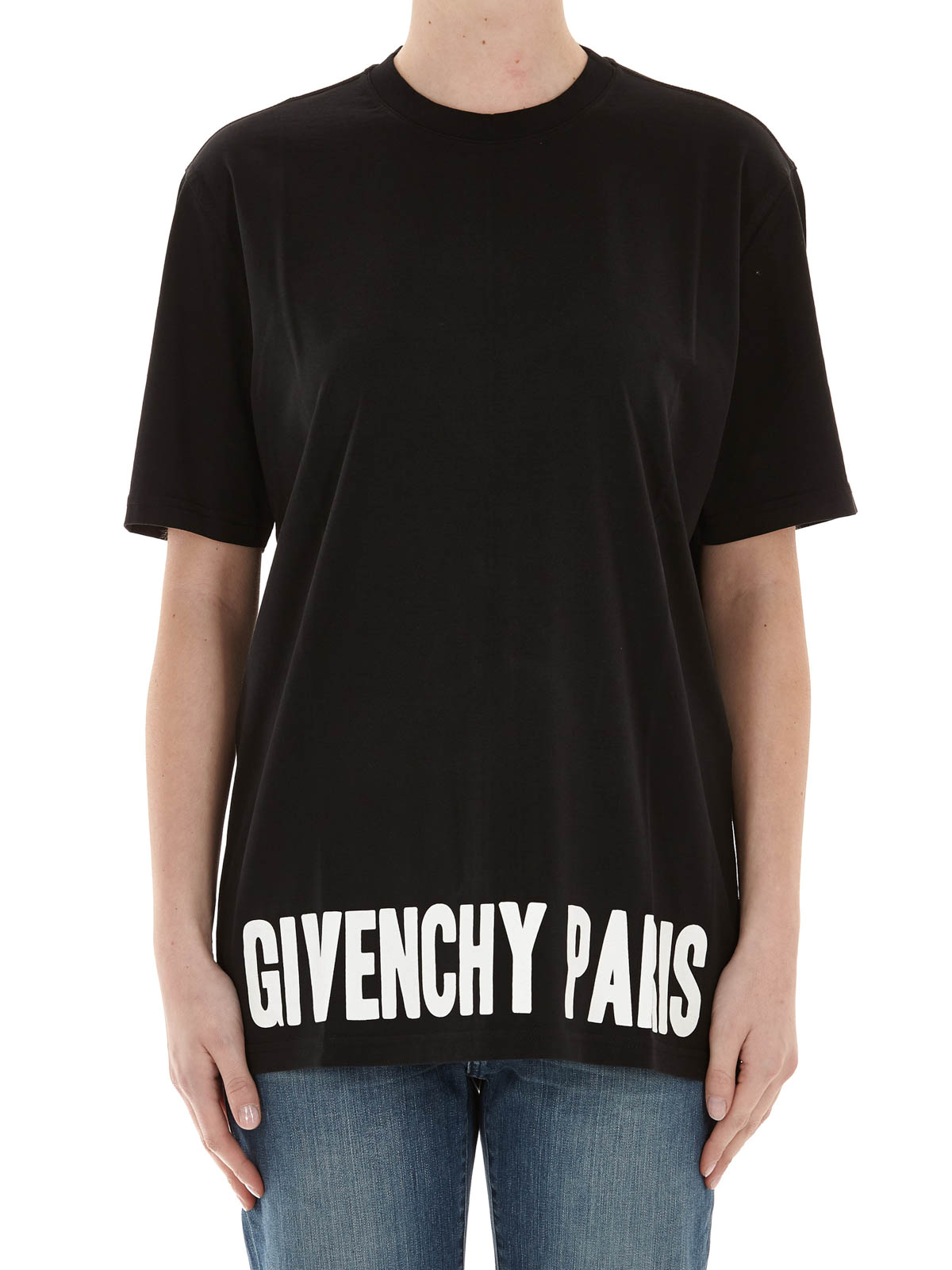 Oversize cotton t shirt by givenchy t shirts ikrix for Givenchy t shirts for sale