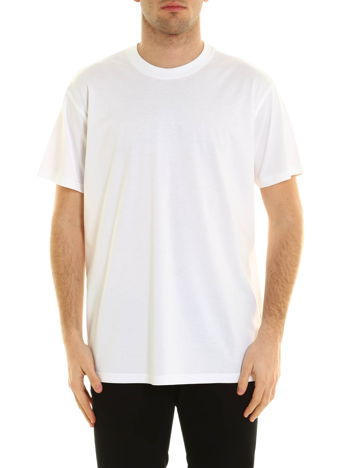 Silk embroidery cotton t shirt by givenchy t shirts ikrix for Cotton silk tee shirts