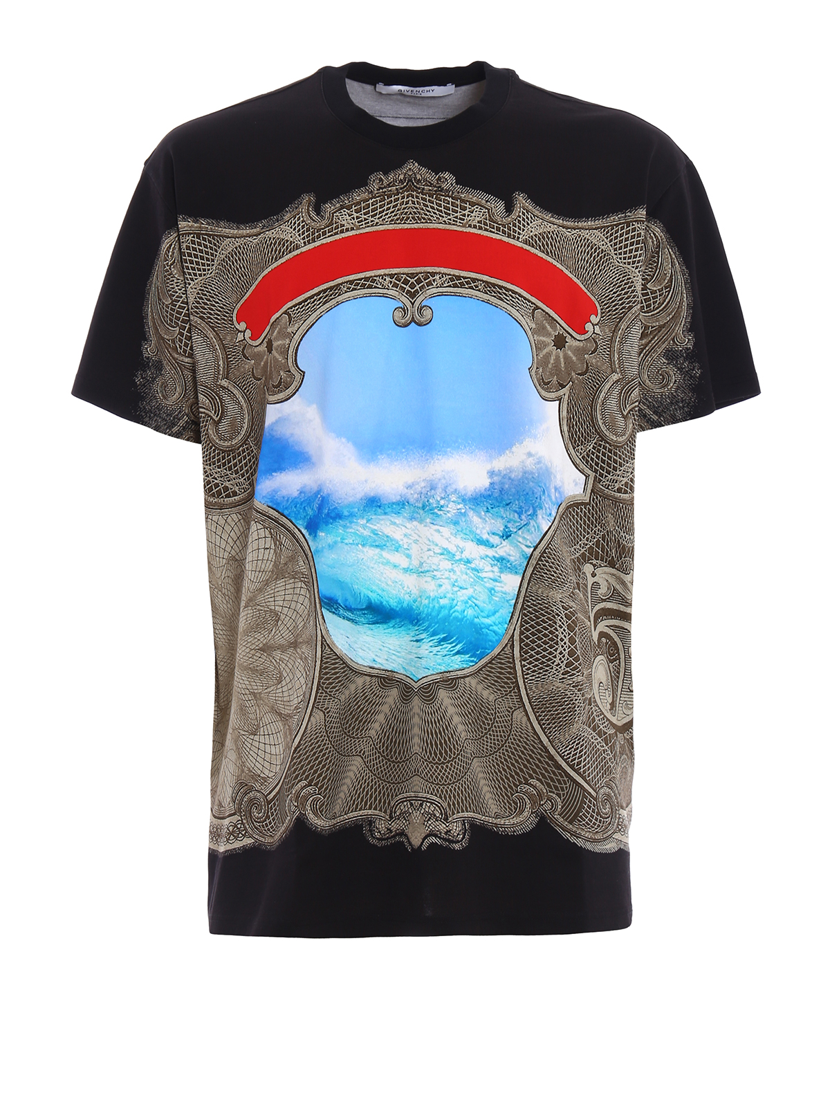 printed over t shirt by givenchy t shirts ikrix. Black Bedroom Furniture Sets. Home Design Ideas