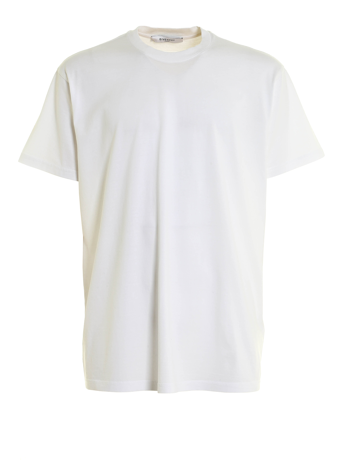 Silk embroidery cotton t shirt by givenchy t shirts for Cotton silk tee shirts