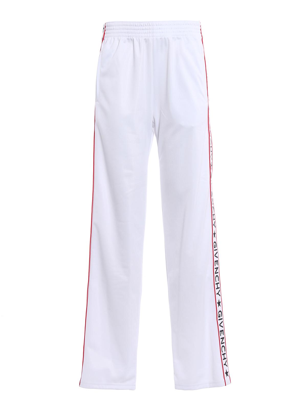 Givenchy Para Pantalones Blanco Chándal Mujer Pantalón IDY2eWEH9