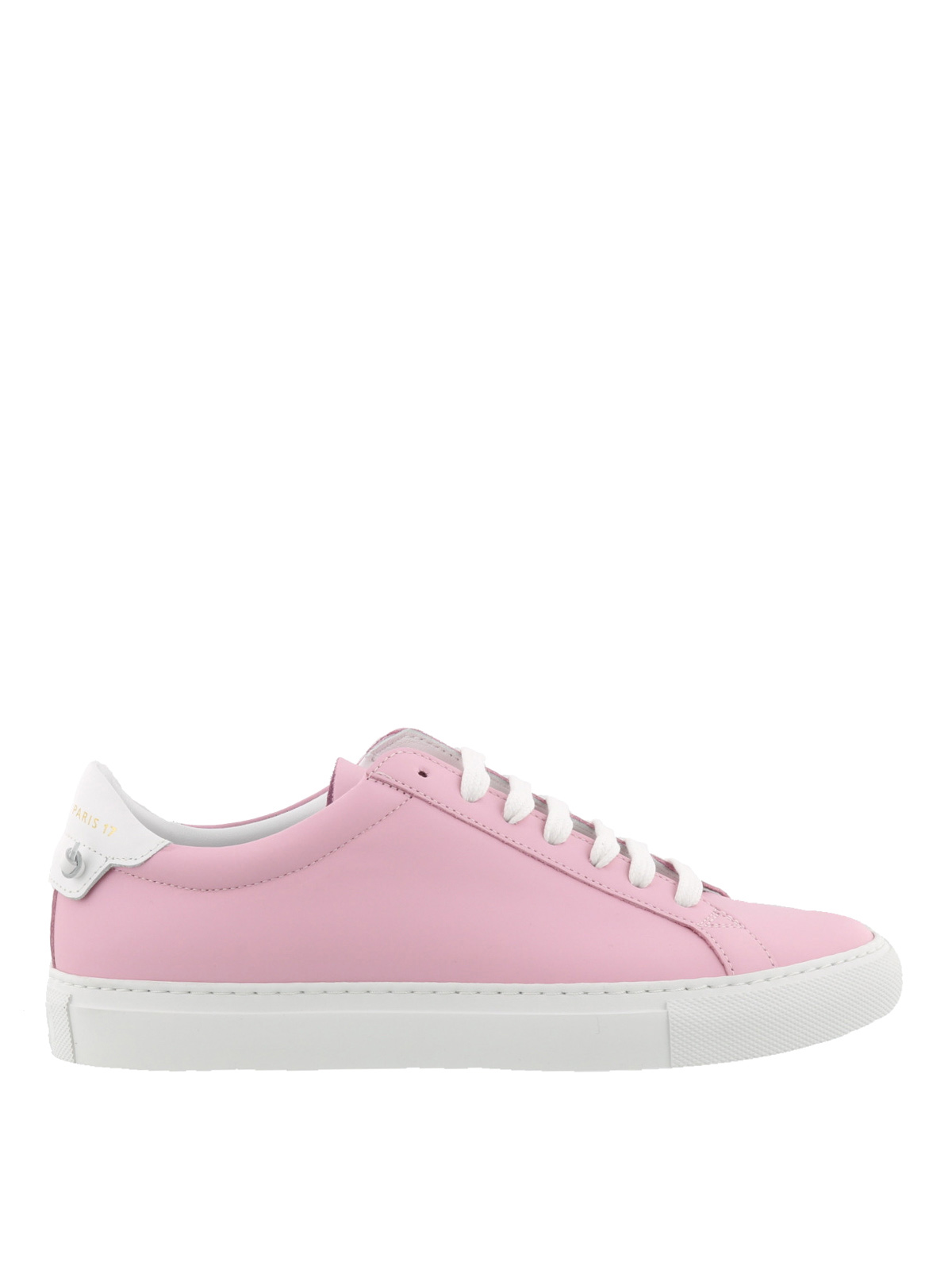 Givenchy - Knots pink leather sneakers