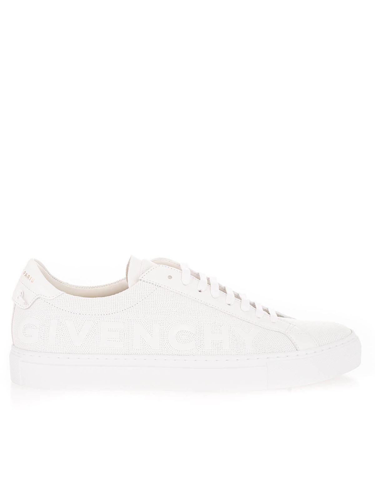 Givenchy Leathers URBAN STREET SNEAKERS IN WHITE
