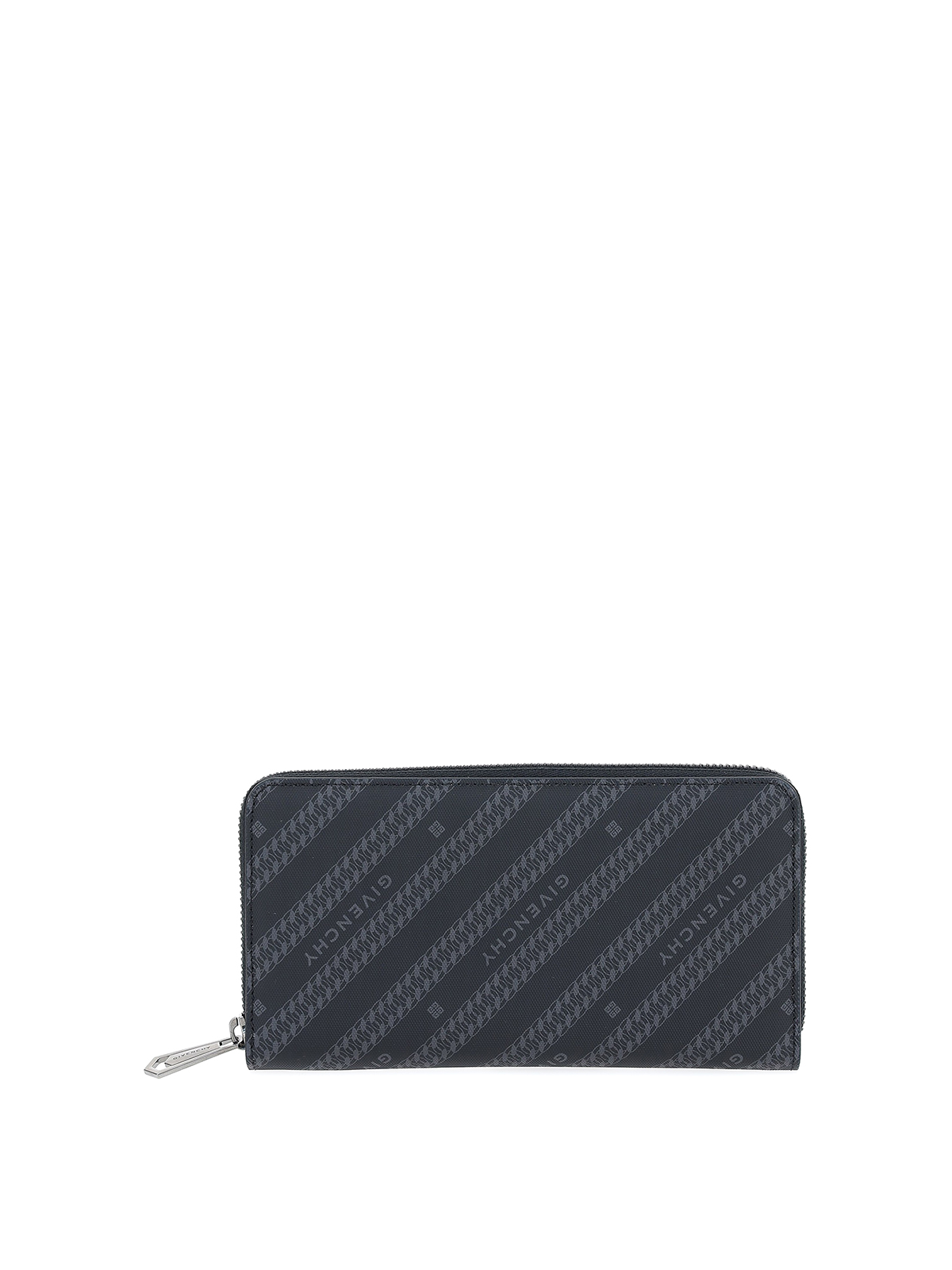 Givenchy Chaine Wallet In Black