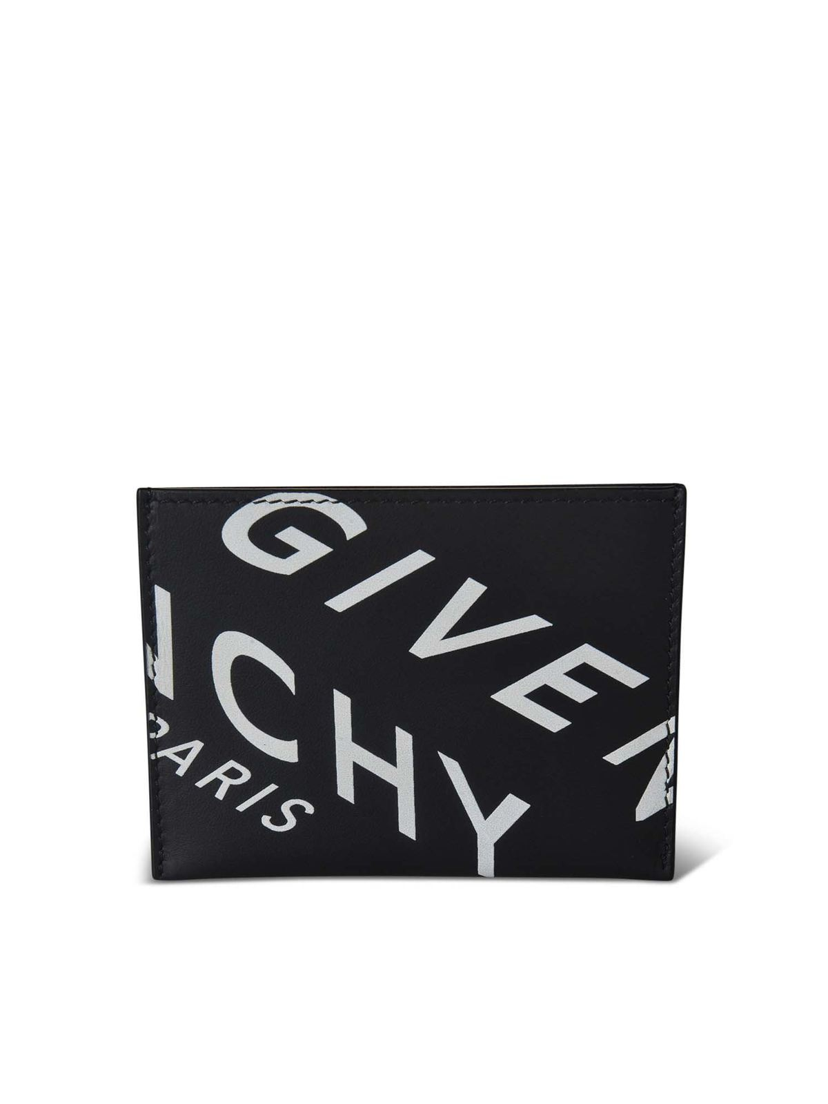 GIVENCHY GIVENCHY REFRACTED BLACK CARD HOLDER